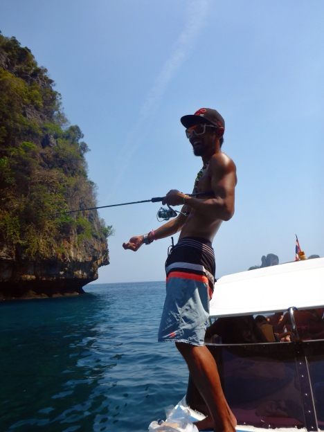 boat trip - Koh Phi Phi