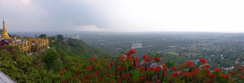 Sutaungpyei Pagoda - Mandalay Hill