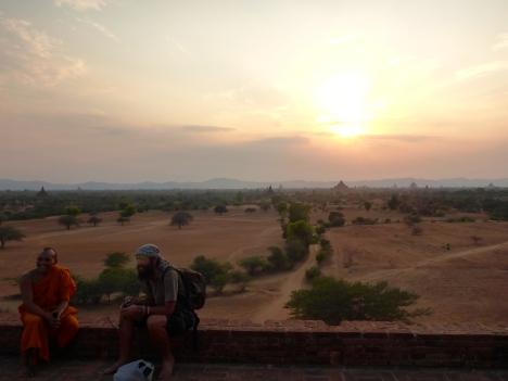 Temple Sunset - Bagan