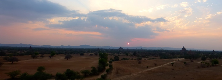 Temple Sunset - Bagan