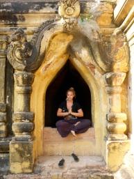 Attempting to Look Zen - Mandalay