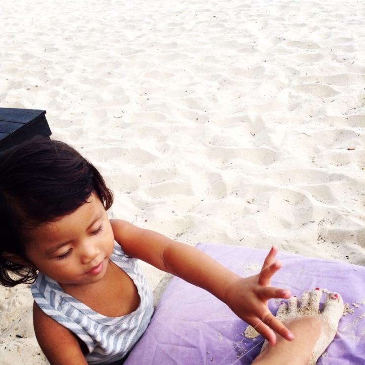 Little Girl Hair Threading