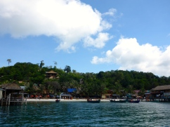 View on Arrival - Koh Rong