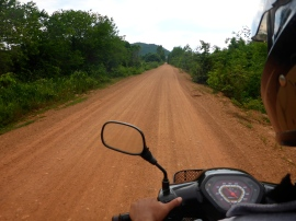 Drive to the Cave - Kampot