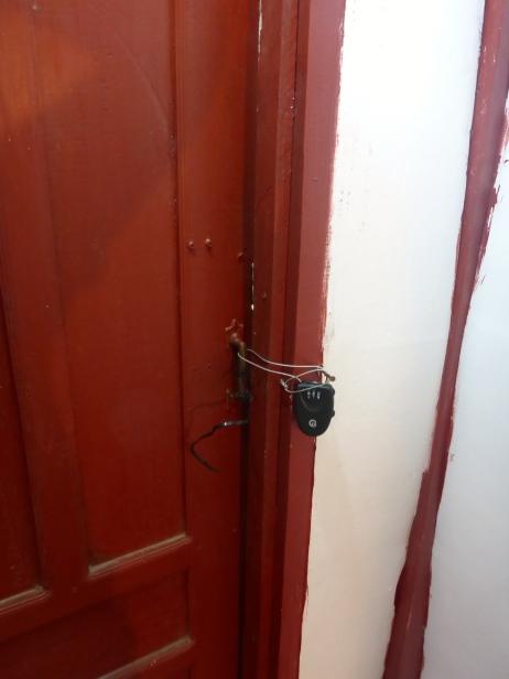 Attempting to Lock the Door