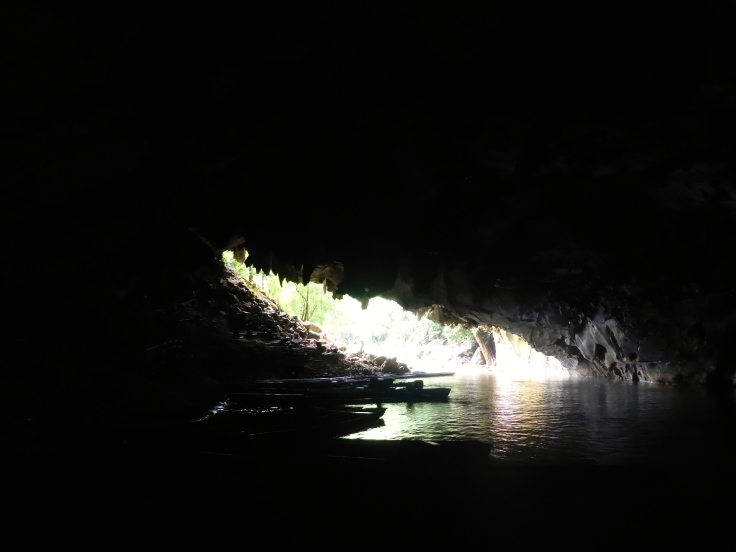 Leaving the Konglor Cave