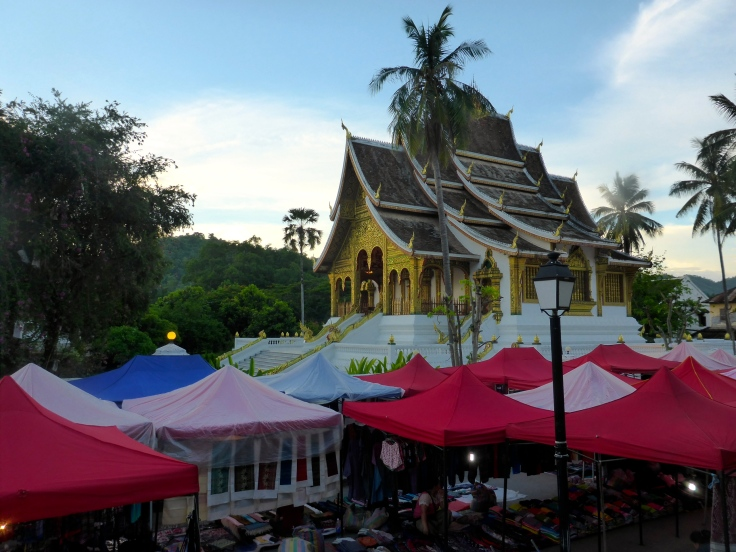 Wat Xieng Thong and the Night Market
