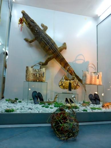 Moo Shops for Crocodile Handbags