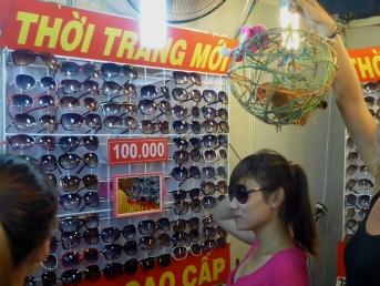 Moo Buys Sunglasses