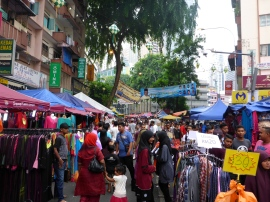 Shopping for Malaysian Christmas Outifts, Little India