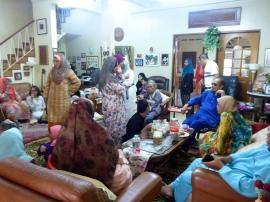 The Crowd at Malaysian Christmas