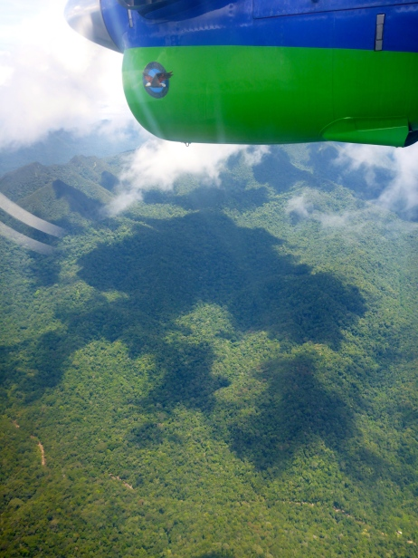 Flying into Bario