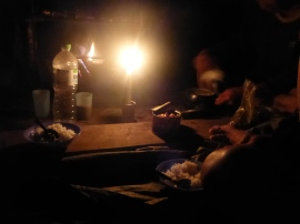 Curried Chicken by Candlelight