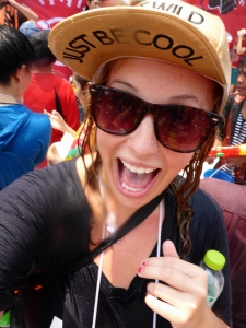 Excited at Songkran