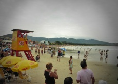The Beach at Barra da Lagoa
