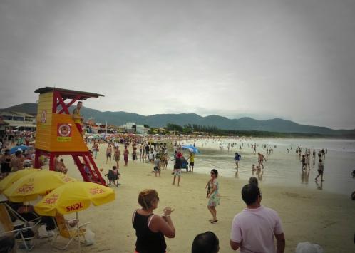 The Beach at Barra da Lagoa