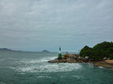 Lighthouse near Barra da Lagoa