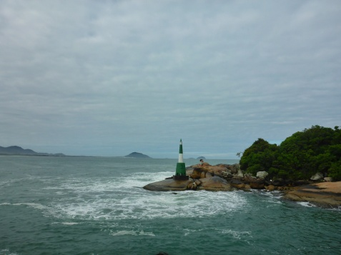 Lighthouse near Barra da Lagoa