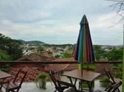 View From My Hostel in Lagoa da Conceição