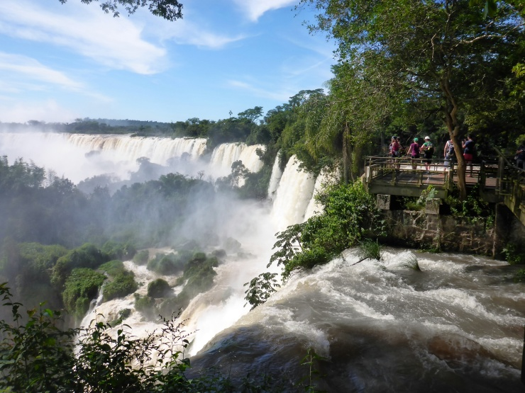 Falls and Observation Deck on Argentina Side