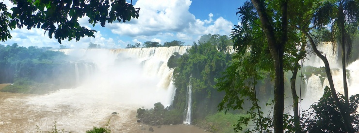 Argentina Side of the Falls