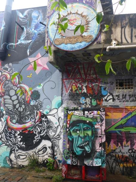Batman Alley Graffiti