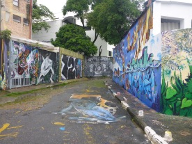 Batman Alley in Vila Madalena