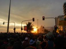 Ipanema Bloco at Sunset