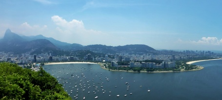 View From Sugarloaf Mountain