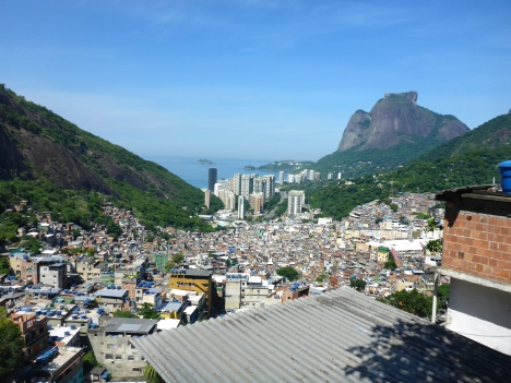 View From the Top of the Favela