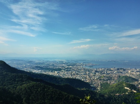 City View From Christ the Redeemer