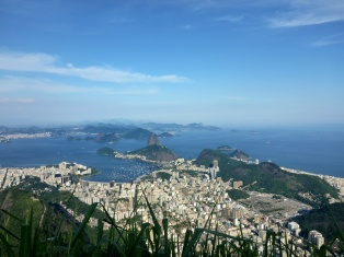 View From Christ the Redeemer