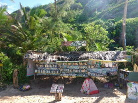 Beachside Library at Lovers' Beach