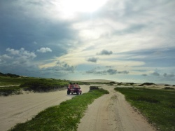 Dune Buggies For Sunset