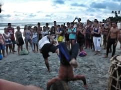 Evening Capoeira Performance
