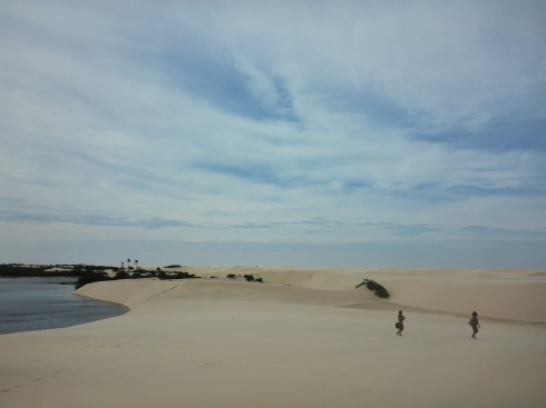 Visit to the Lençóis Dunes