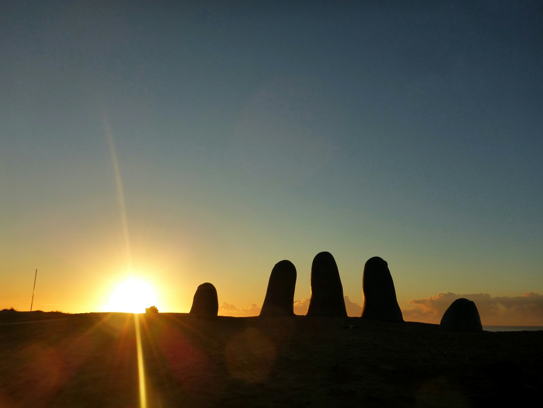 Punta del Este Hand in the Sand