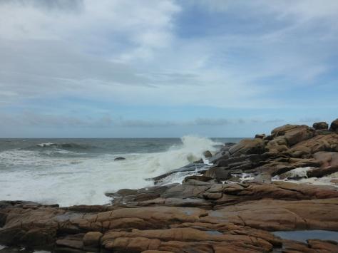 Rocky Beach in Cabo Polonio