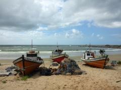 Fishing Boats in Punta del Diablo