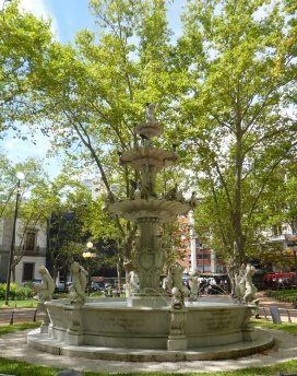 Some Fountain in Montevideo