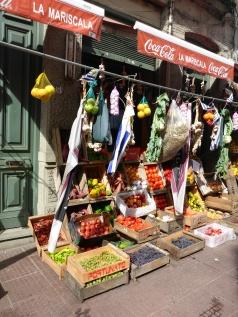 Fruit Stalls in Montevideo