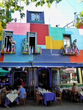 Lunch in La Boca