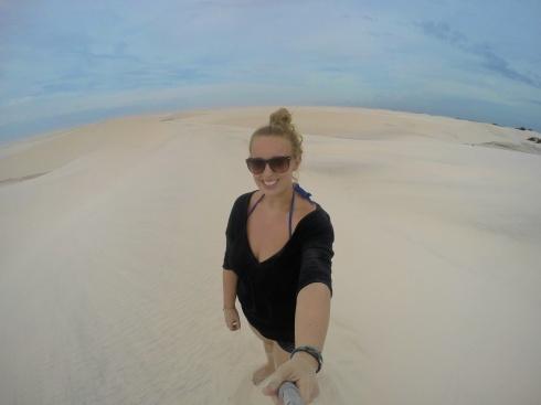 Annnnnd a Sand Dune Selfie
