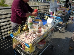 Ceviche From a Grocery Cart? Thinking I'll Pass on That One