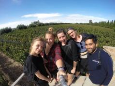 Vineyard Selfie with the Crew