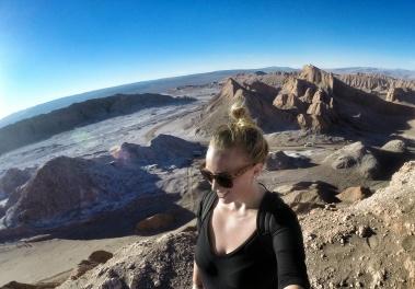 Valle de la Luna Selfie.