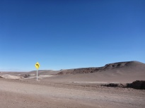 The Road to Valle de la Luna.