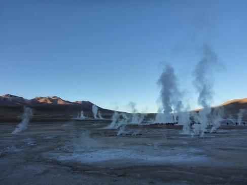 El Tatio Geysers - 4,320 Meters.