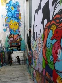 Stairwell Graffiti.