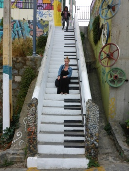 Me. Stairwell Graffiti.